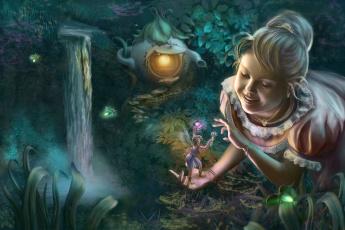 Картинка фэнтези девушки девочка