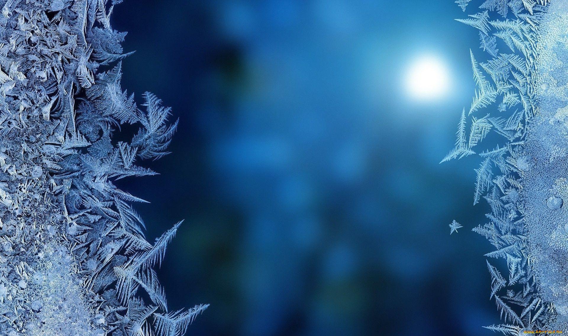 Зима снежинки лед макро загрузить