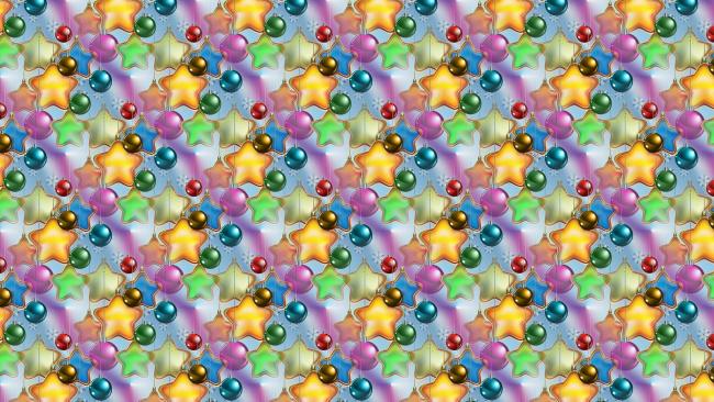 Обои картинки фото праздничные, векторная графика , новый год, текстура, фон, новый, год, новогодние, шарики, праздник, звёздочки