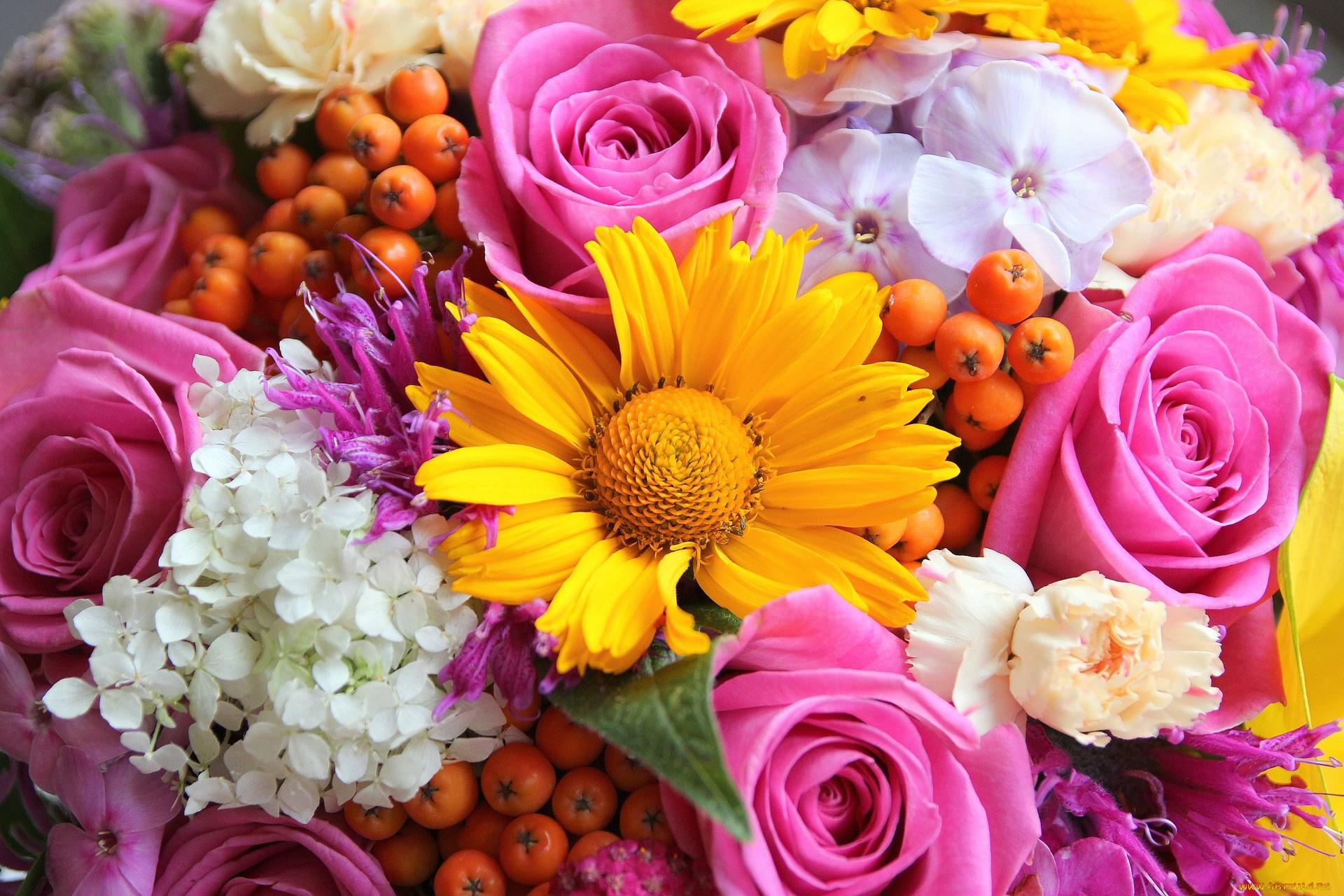 Картинки фото цветов букеты