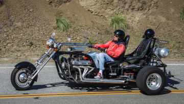 Картинка custom+v8+trike мотоциклы customs custom v8 trike