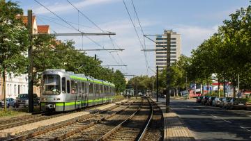 Картинка техника трамваи трамвай рельсы