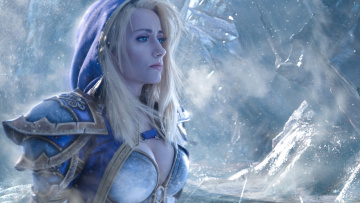Картинка разное cosplay+ косплей world of warcraft cosplay mahou jaina proudmoore blonde girl