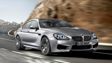 Картинка bmw gran coupe автомобили германия bayerische motoren werke ag