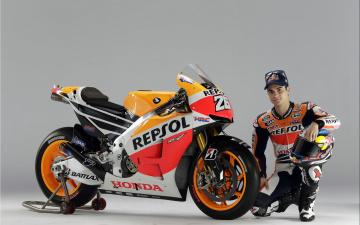 Картинка мотоциклы honda hrc fleet motorcycle
