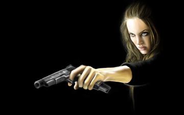 Картинка особо+опасен рисованные кино анджелина джоли wanted особо опасен angelina jolie