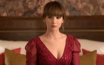 обоя кино фильмы, red sparrow, red, sparrow, jennifer, lawrence