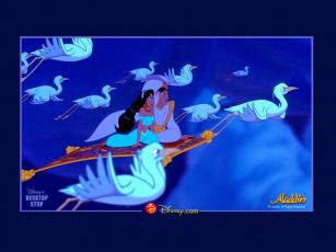 обоя мультфильмы, aladdin