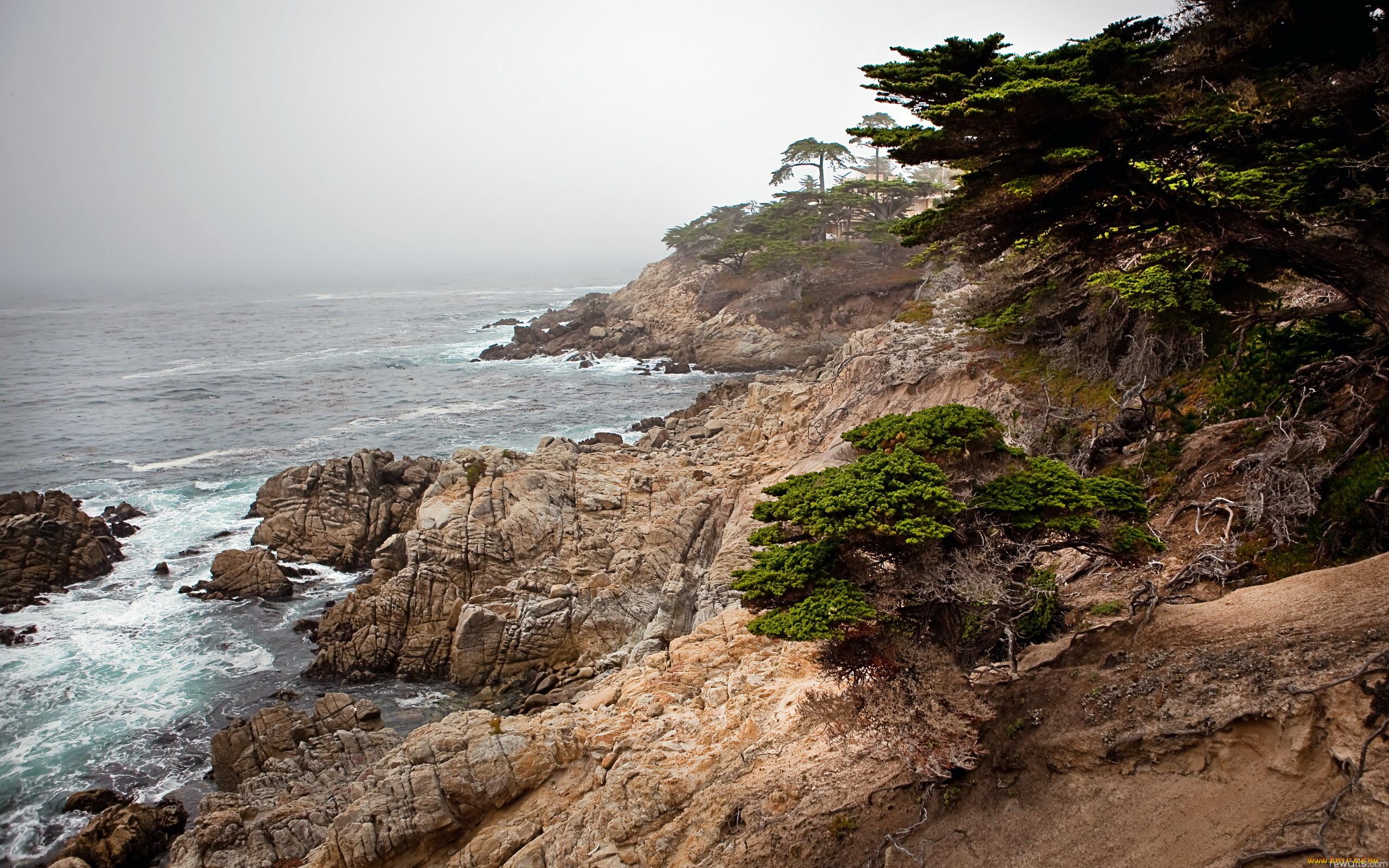 Каменистый и скальный берег без смс
