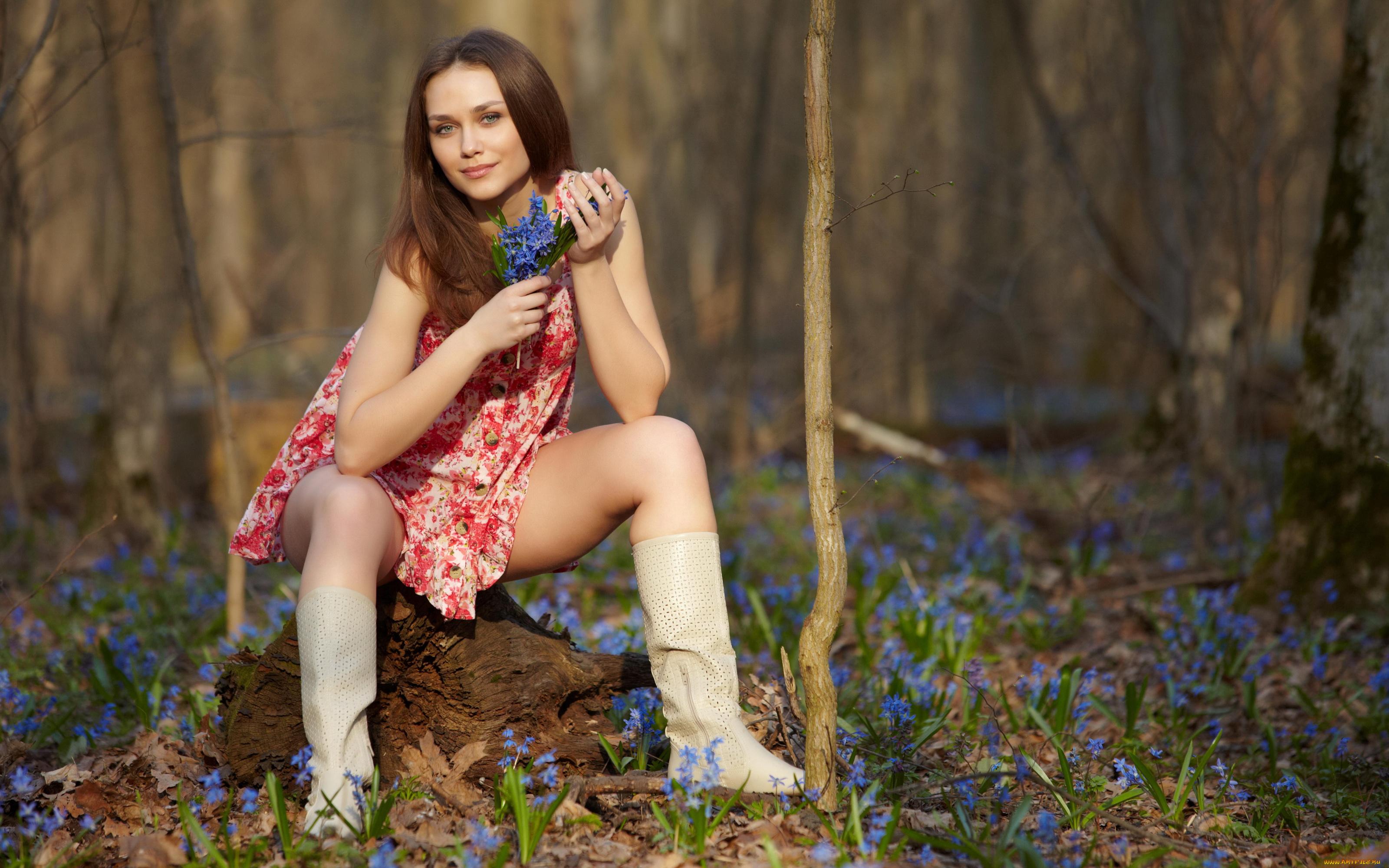 Пор фото в лесу — 10