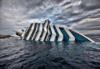 Картинка costa concordia корабли лайнеры катострофа крушение средиземное море