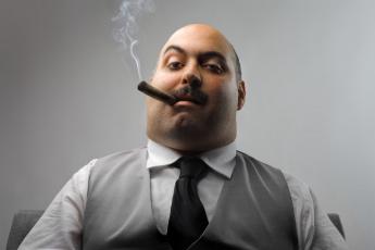 Картинка важная насяльника мужчины unsort босс сигара