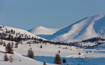 Картинка сергей доля природа зима Якутия
