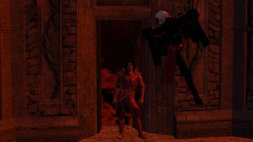 Картинка видео+игры dark+heresy фон оружие киборг взгляд мужчина