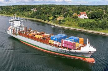 Картинка корабли грузовые+суда контейнеровоз
