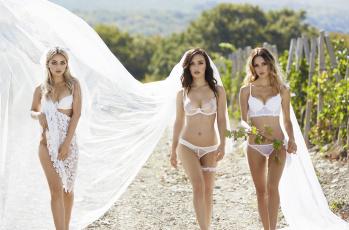 обоя девушки, -unsort , группа девушек, невеста, белье, serebro, гр серебро