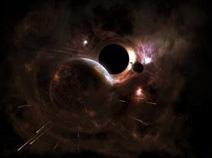 Картинка космос Черные дыры