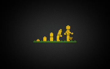 Картинка рисованные минимализм лего