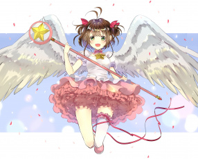 Картинка аниме card+captor+sakura card captor sakura ангел