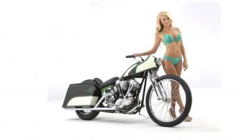 обоя moto girl 10, мотоциклы, мото с девушкой, girls, moto