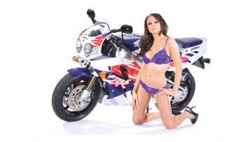 обоя moto girl 14, мотоциклы, мото с девушкой, girls, moto