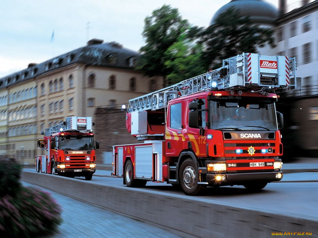 Видео про пожарные машины #4