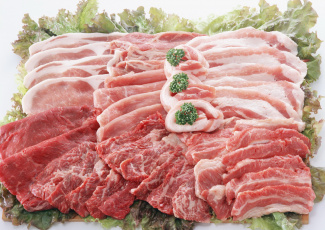 Картинка еда мясные блюда мясо зелень ребрышки
