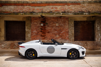 Картинка автомобили jaguar project 7 f-type светлый 2014г uk-spec