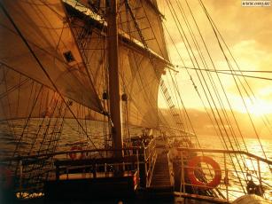 обоя cупер, фрегат, корабли, парусники