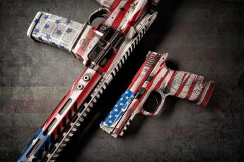 Картинка оружие пистолеты стиль пистолет штурмовая винтовка фон
