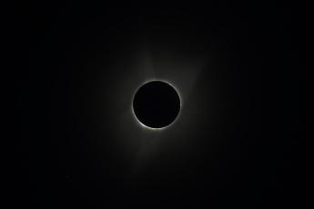 обоя космос, луна, солнце
