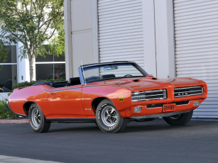 Картинка pontiac gto the judge convertible автомобили