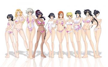 Картинка аниме bleach девушки