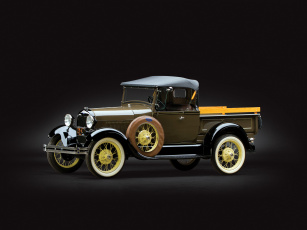 Картинка автомобили классика 1927г 76a-78a pickup roadster model a ford