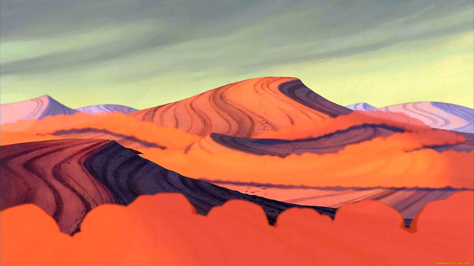 Пустынные холмы без регистрации