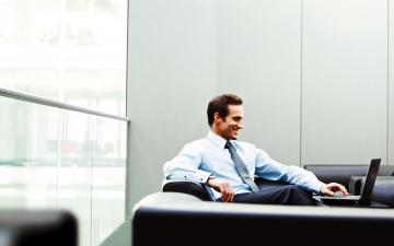 обоя мужчины, - unsort, улыбка, ноутбук
