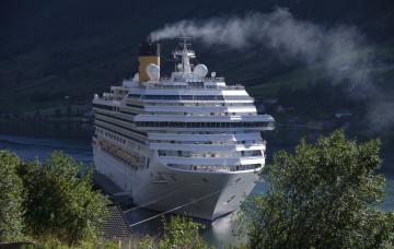 Картинка costa+fortuna корабли лайнеры круиз лайнер