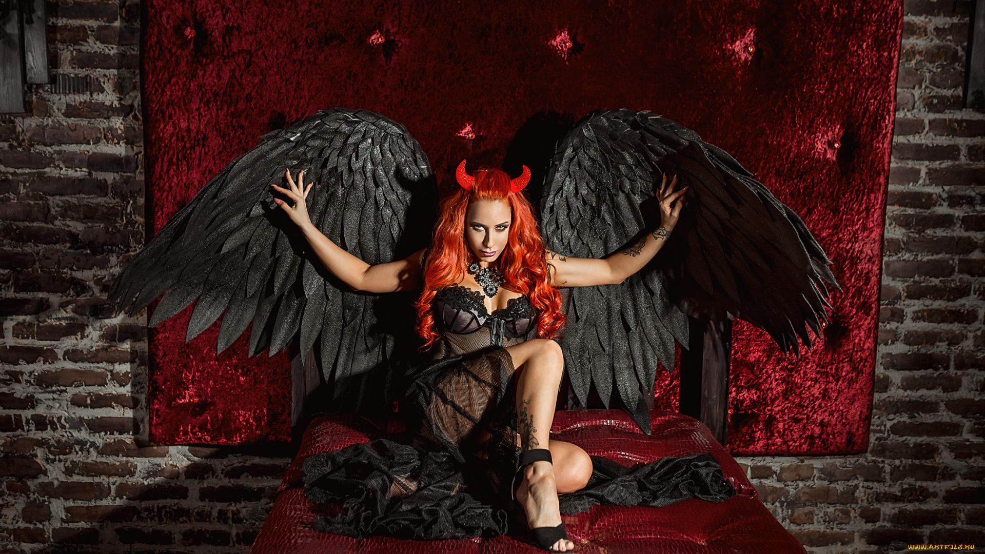 Картинки на тему девочки дьяволы