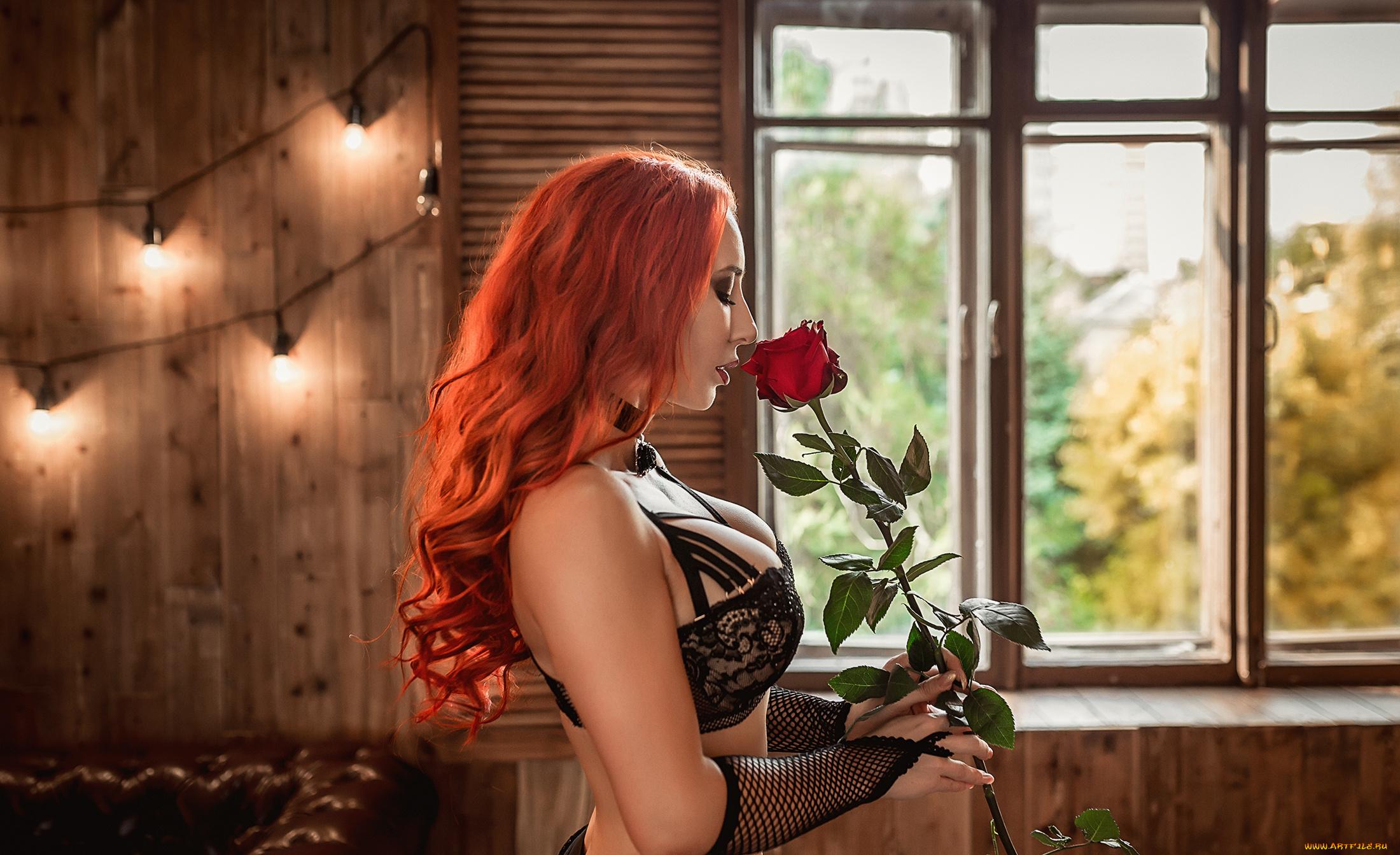 Секс с страстной рыженькой, Порно видео онлайн: РыжиеНежное 12 фотография