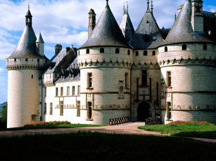 обоя chateau, chaumont, france, города