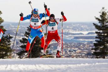 обоя спорт, лыжный спорт, лыжники