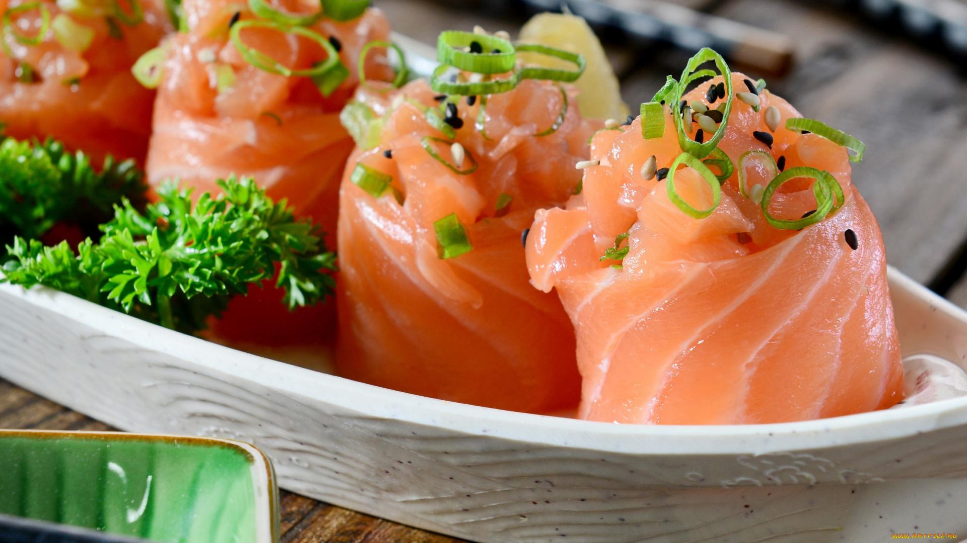 Суши с зеленью без смс