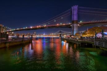 Картинка new+york города нью-йорк+ сша панорама небоскребы
