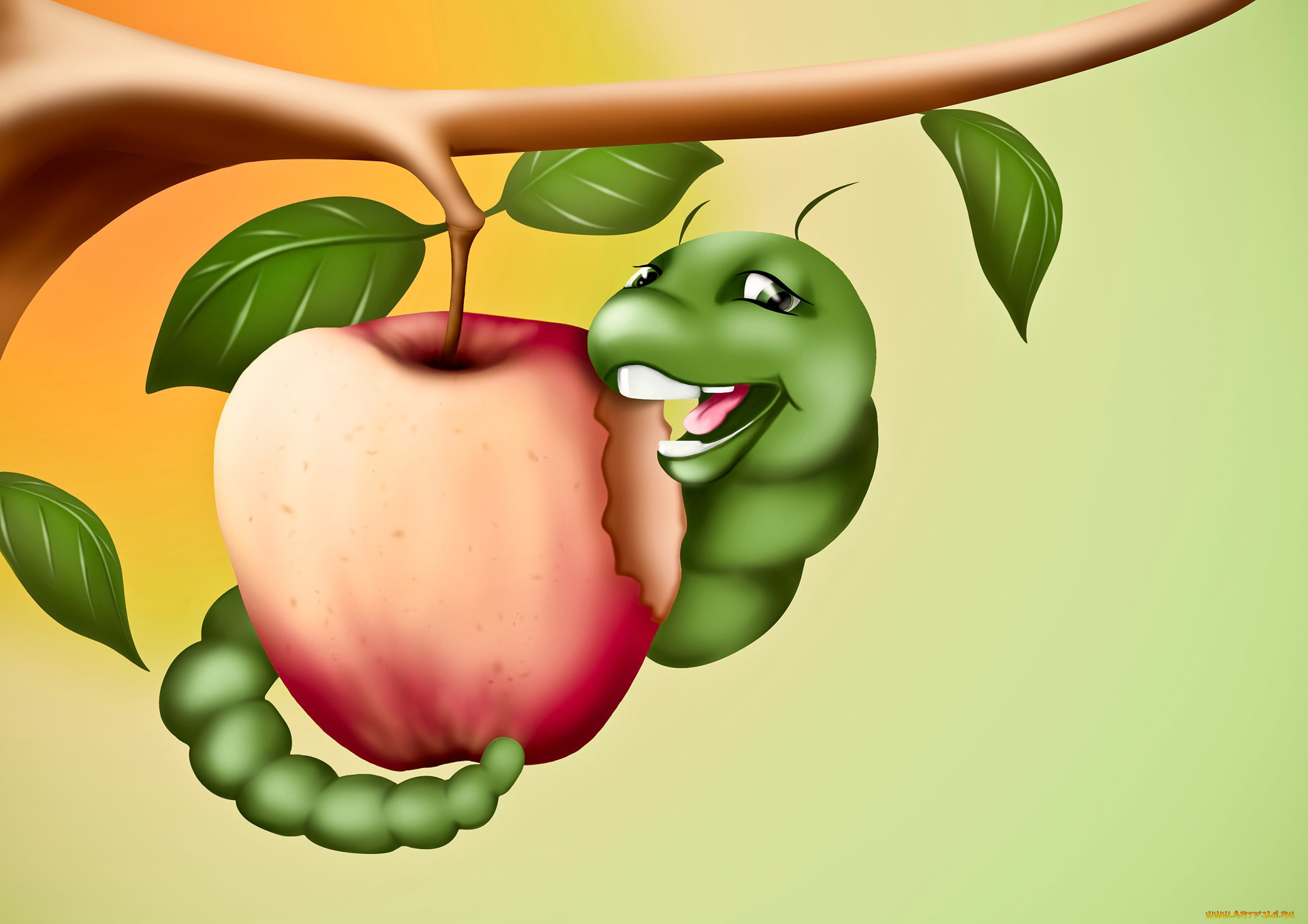 Квартиру картинки, смешное яблоко картинки