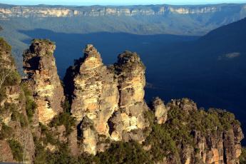 Картинка природа горы вершины панорама