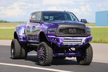 обоя автомобили, custom pick-up, dodge