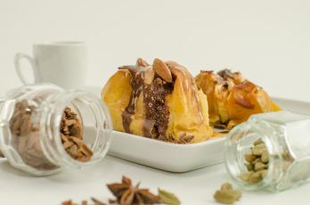 Картинка еда пирожные +кексы +печенье яблочный пирог