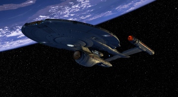 Картинка космос арт планета вселенная полет космический корабль