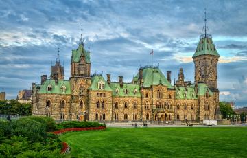 обоя ottawa,  kanada, города, оттава , канада, дворец, площадь