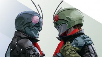 обоя kamen rider,  dragon knight, аниме, оружие,  техника,  технологии, hero